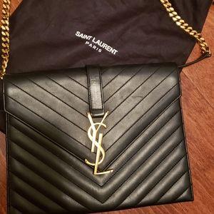 Saint Laurent monogram shoulder bag